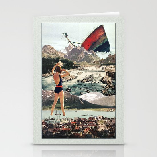 The Wreck Stationery Card