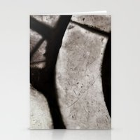 Glass Abstract 4 Stationery Cards