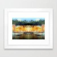 All About Italy. Piece 19 - Portofino Spirit Framed Art Print