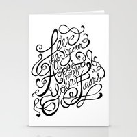 Live For Your Hopes Stationery Cards