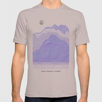 Mount Everest Mens Fitted Tee Cinder SMALL