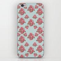 Flower Print iPhone & iPod Skin