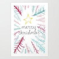 Christmas Time - Jungle … Art Print
