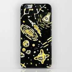 Space Beard Guy iPhone & iPod Skin