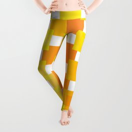 Leggings - 50 Squares of YELLOW - Living Hell - Hell-Prints-Munich