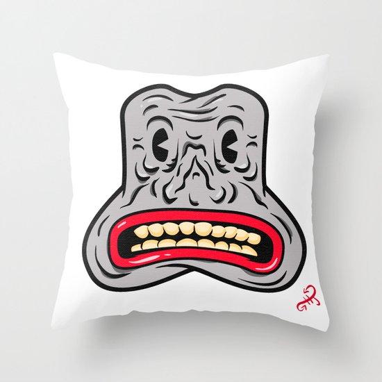 Happy Joy Vibrations Throw Pillow