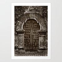 Espada Doors Art Print