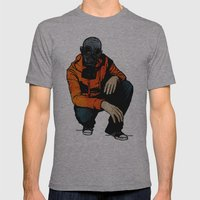 Waiting For (Inevitable)… Mens Fitted Tee Athletic Grey SMALL