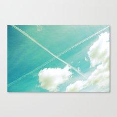 Scottish sky 2594 Canvas Print