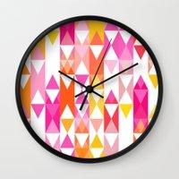 Geostripe Wall Clock