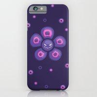 Purple Evil Flower iPhone 6 Slim Case