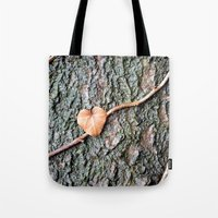 Heart And Tree Tote Bag
