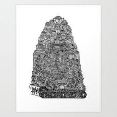 Hungry City Art Print