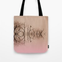 Branches and Birds Tote Bag