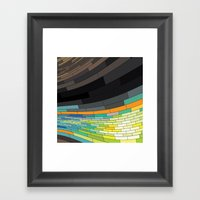 Revenge Of The Rectangle… Framed Art Print
