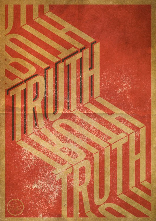 Finding Truth Art Print