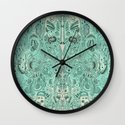 Histological section of my inner world (#4) Wall Clock