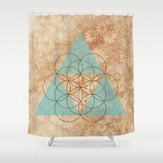 Geometrical 007 Shower Curtain