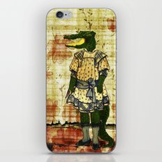 Crocogirl iPhone & iPod Skin