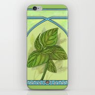 Art Nouveau. Basil. iPhone & iPod Skin