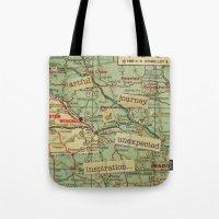 Artful Journey Tote Bag