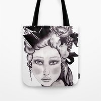 Shipwrecked Antoinette Tote Bag