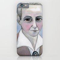 Gertrude Stein Literary Portrait iPhone 6 Slim Case