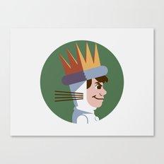 Headgear: Max Canvas Print