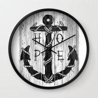 H O P E Wall Clock