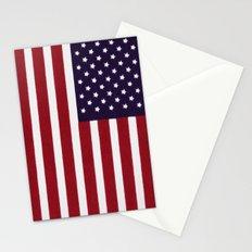 Stars & Stripes - old glory Stationery Cards