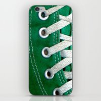 eyelets / iphone design iPhone & iPod Skin