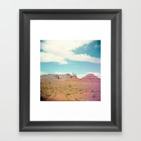 Drive By Shooting Framed Art Print