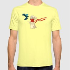Guide Mens Fitted Tee Lemon SMALL