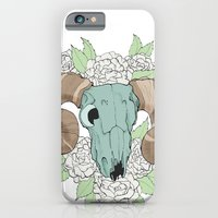 iPhone & iPod Case featuring Skull by Bare Wolfe