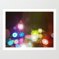 All Of The Lights Art Print