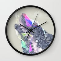 Cry Wolf Wall Clock