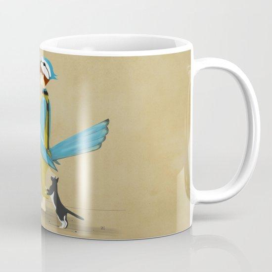 Blue Chickadee Mug