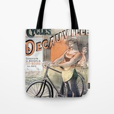 Decauville Tote Bag
