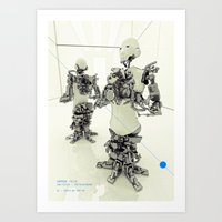 MOTHERFRAME Art Print