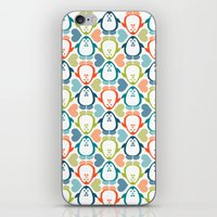 NGWINI - Penguin Love Pa… iPhone & iPod Skin