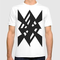 Random Mens Fitted Tee White SMALL
