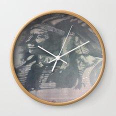 Indian Spirit Wall Clock