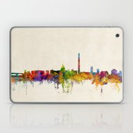 Laptop & iPad Skin featuring Washington DC Skyline Ci… by ArtPause