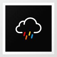 Lovely Rainy Day Art Print