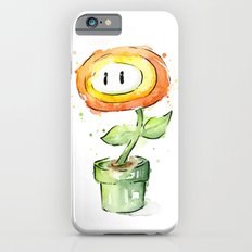 Fireflower Mario Waterco… iPhone 6 Slim Case