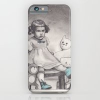 Her blue shoes iPhone 6 Slim Case