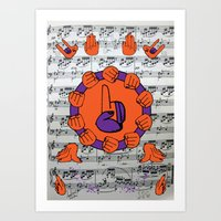 If I were you, if you know God's hand is with you, I won't Worry a bit about my _____ Art Print