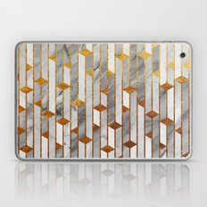 Marble skyscrapers Laptop & iPad Skin