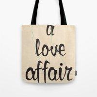 A Love Affair Tote Bag