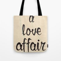 A Love Affair Tote Bag